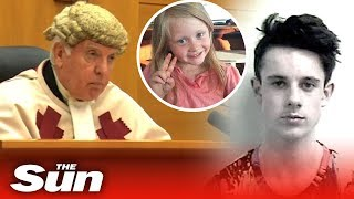 Aaron Campbell gets life in prison for raping and killing Alesha MacPhail, 6