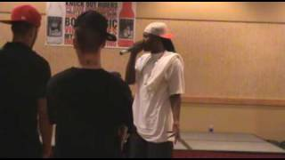 Jody Breeze & Block Entertainment in St.Louis for Auditions -Bad Boy South- CAVE ENT