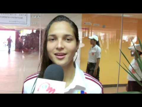 Entrevista post partido Venezuela vs Colombia Sudamericano femenino sub 17