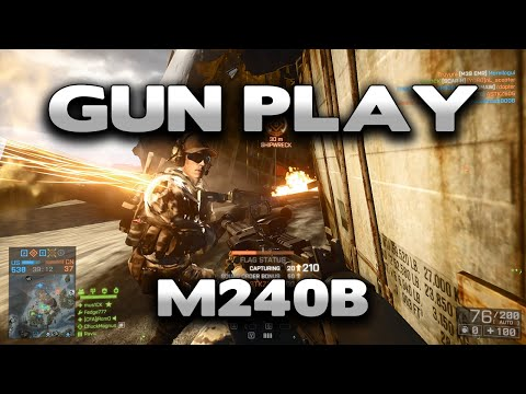 Battlefield 4 Gun Play : M240B
