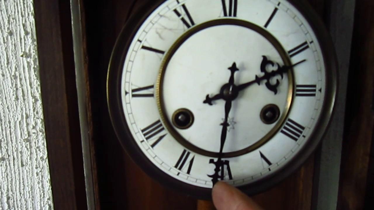 17c4928a555 Relógio de Parede Junghans - Antigo Original e Revisado - YouTube