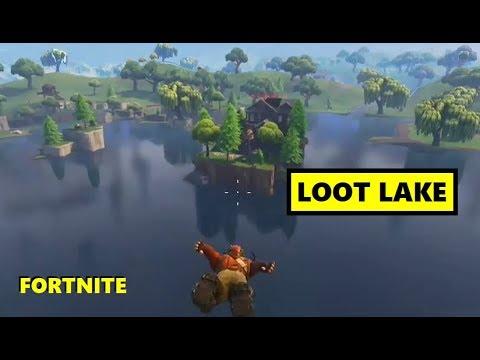 Fortnite - Epic Victory Royale on Loot Lake Island!