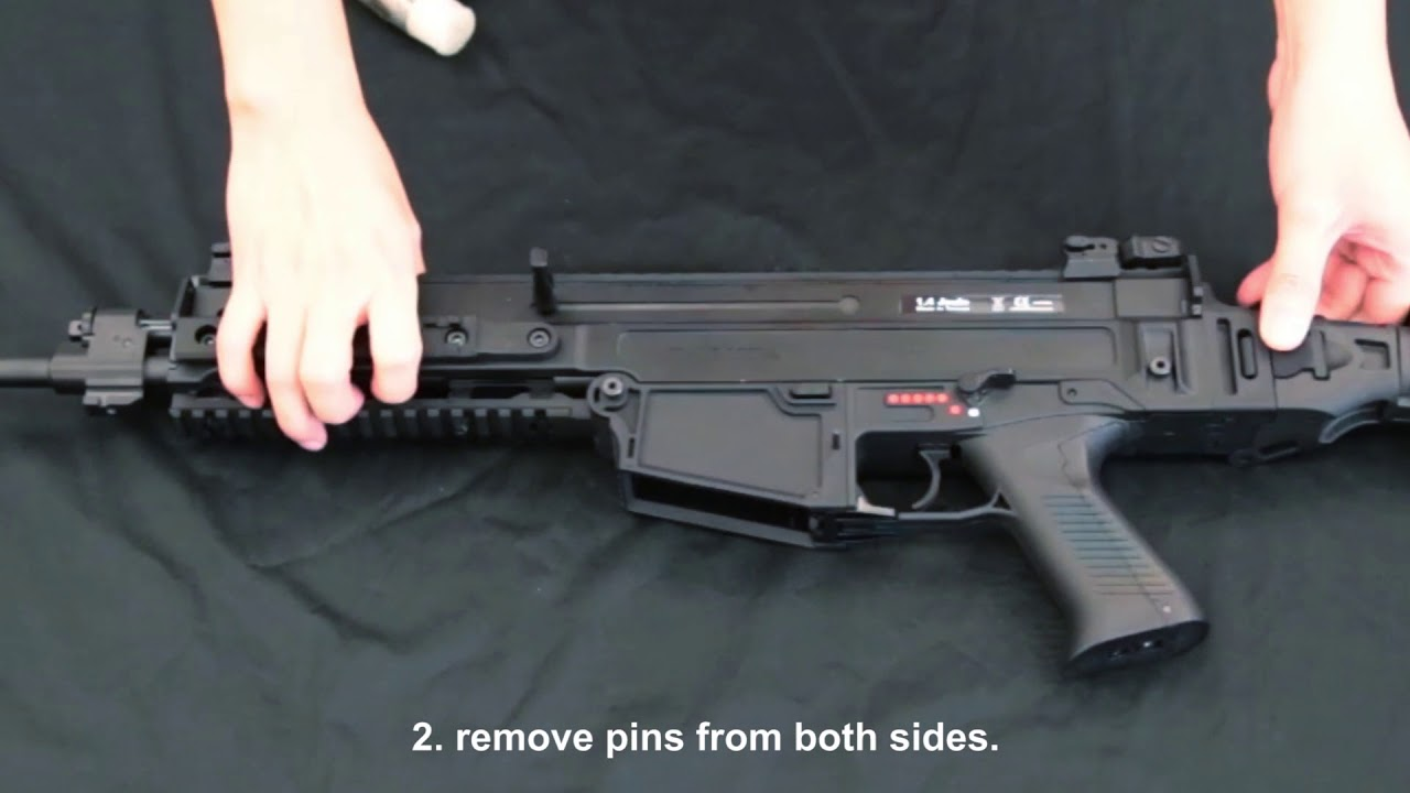 How to replace the ASG CZ 805 BREN magazine magwell to ordinary M4/M15  magazine magwell_v2