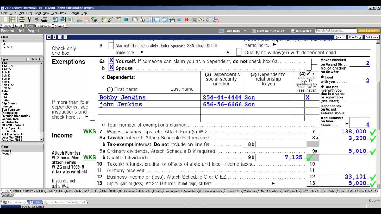 Lacerte Professional Tax Software Program Overview Youtube