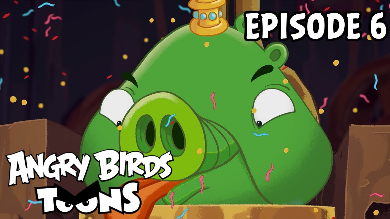 Angry Birds Toons Characters Eggs By Brunomilan13 On: Pig Talent - S1 Ep6 - YouTube
