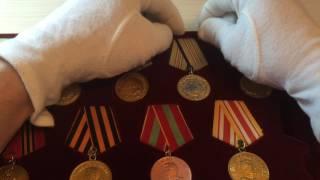 Боевые медали 1941-1945 как сохранить!