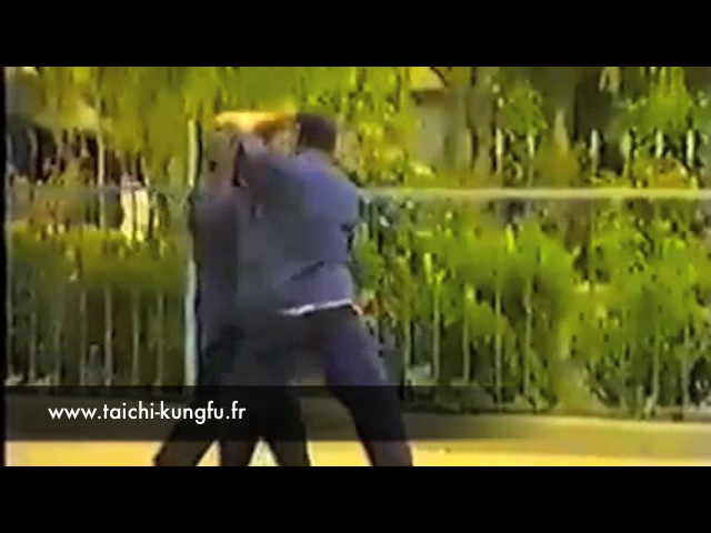 Vidéo Ancienne 9/12 - Tai Chi style Chen Tuishou par Chen Zhen Ru et Chen Shu Yan