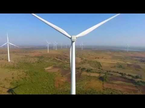 DroAir | Beautiful Aerial View of Wind Mill Near Dewas (M.P)