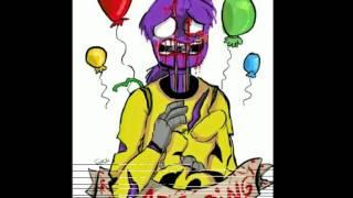 - Грустный фиолетовый человек D