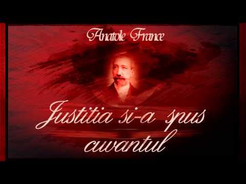 Justitia si-a spus cuvantul sau Crenkebi - Anatole France