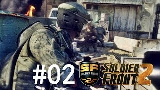 Soldier Front 2 #02 Hardcore Map Running with Sniper/Rifle !