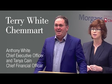 Terry White Chemmart: Anthony White, Chief Executive Officer & Tanya Cain, Chief Financial Officer