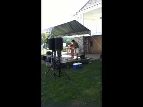 23rd Adirondack Folk Music Festival: Dan Duggan Hammered Dulcimer Solo 81212