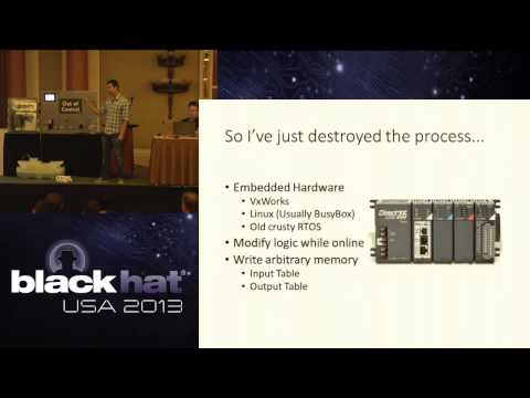 Black Hat 2013 - Out of Control: Demonstrating SCADA Device Exploitation