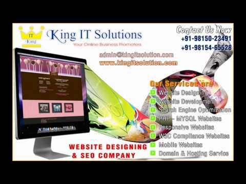 web design company in ludhiana punjab india www.kingitsolution.com