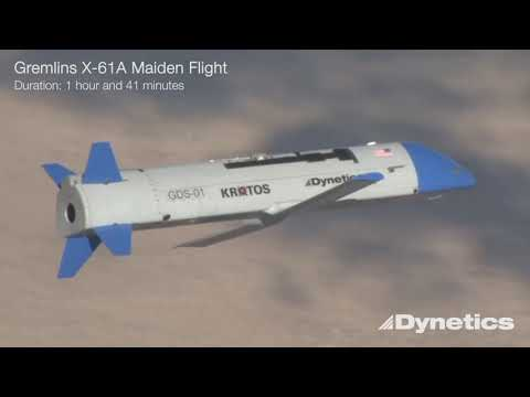 Dynetics' X-61A Gremlins Air Vehicle Performs its Maiden Flight