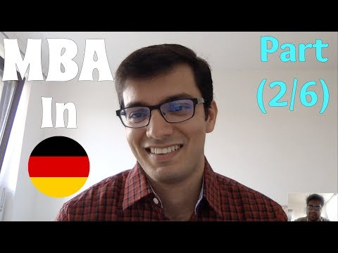 Selecting a Business School for MBA in Germany (2/6)