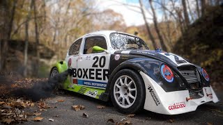 400HP Twin Turbo Diesel VW Beetle Hill Climb Monster!