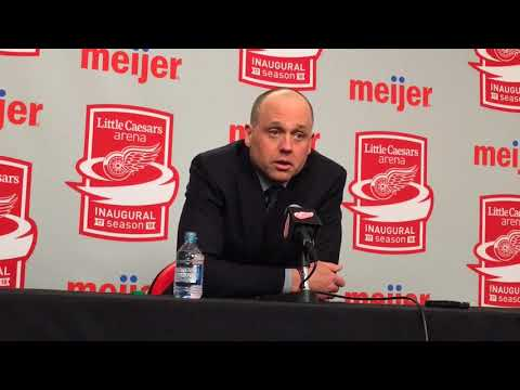 Jeff Blashill: Young Red Wings lost too many puck battles