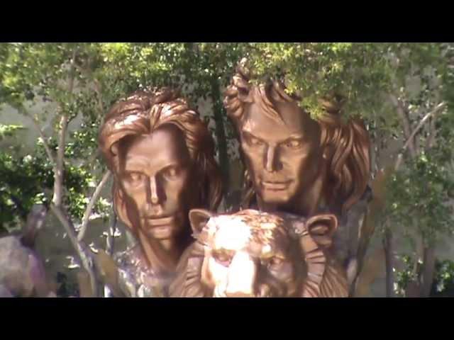 Las Vegas Luxushotel The Mirage Casino Nevada Luxus heiraten in las Vegas Siegfried und Roy