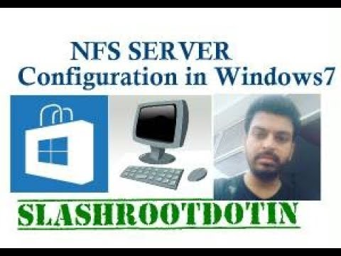 nfs server configuration in windows 7