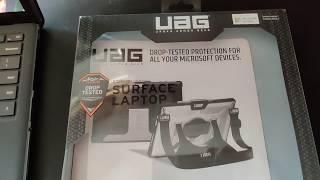 UAG Microsoft Surface Laptop Rugged Protection Plasma Series Case
