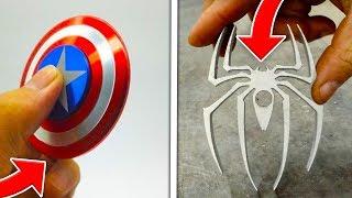 TOP 5 BEST CUSTOM FIDGET SPINNERS! (Insane Customized Fidget Spinners)