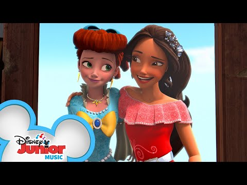Give It A Whirl | Music Video | Elena Of Avalor | Disney Junior