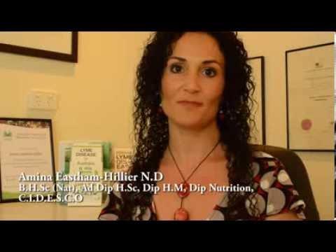 Treating Lyme Disease In Australia;  Naturopath Amina Eastham-Hillier- Bec Mills