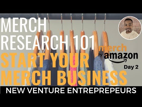 Start Your Merch By Amazon Business Beginners: Tutorial How To Research To Find Profitable Niches thumbnail