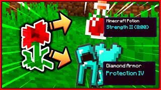 Sharpness 5 + Strength 2 + Level 30 - UHC Highlights (FLOWER POWER)