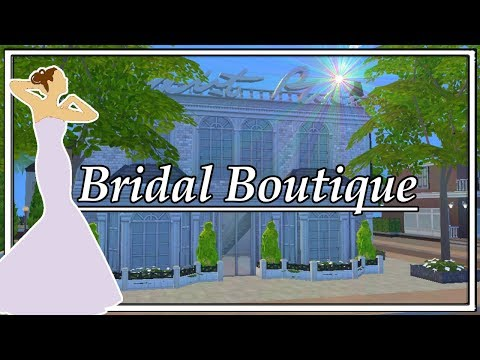 Bridal Boutique Sims 4 Speed Build