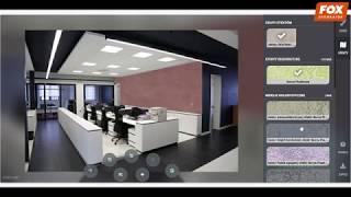 wizualizer Fox Dekorator - nakładanie efektów dekoracyjnych