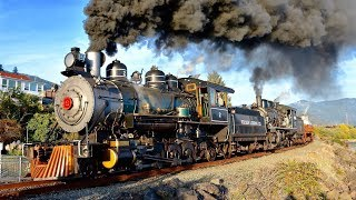 WOW! Steam Train Doubleheaders! 🚂🚂