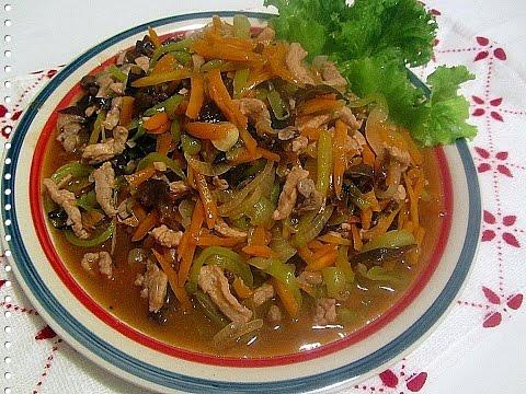 Свинина по китайски с соевым