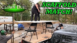 SCAFFOLD MATCH CHALLENGE for the GTS INTERCONTINENTAL CHAMPIONSHIP! GTS Crown Jewel PPV