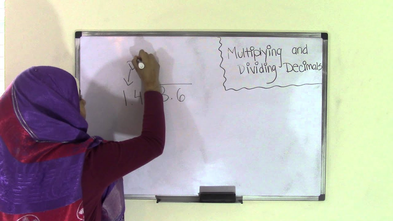 6th Grade Math Multiplying and Dividing Decimals - YouTube