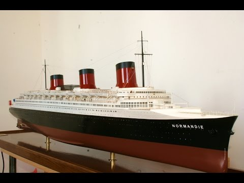 """SS  """"NORMANDIE""""   scale: 1/192"""