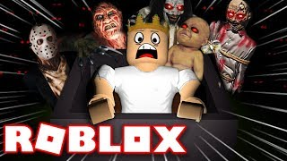 THE SCARY HALLOWEEN RIDE IN ROBLOX | Roblox - Hallow's Eve: Sinister Swamp