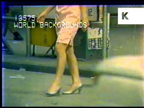 1970s Hong Kong Streets, Guys and Girls