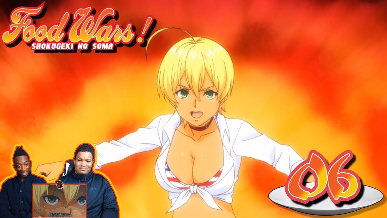 Food Wars Ikumi ikumi mito, the meat master! food wars! shokugeki no soma - episode 6 |  reaction