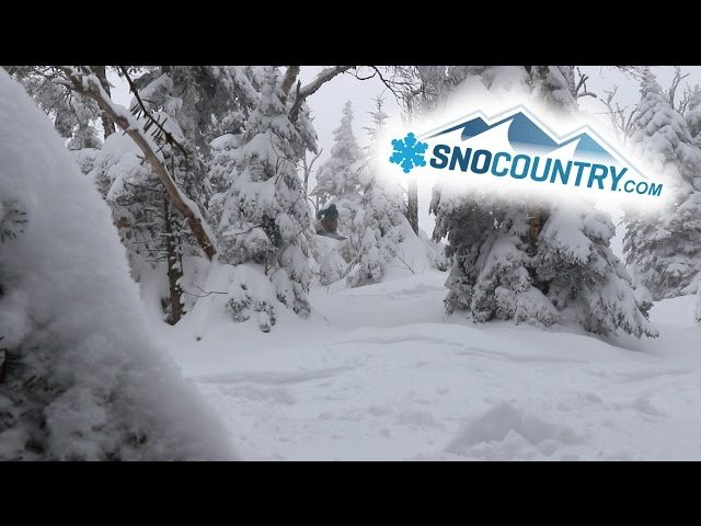 Jay Peak Resort 2017 - SnoCountry Snapshot with Halley O'Brien