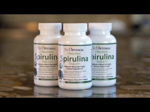 BioOptimal Organic Spirulina Tablets