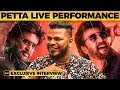 Petta Marana Mass Live Singing By Ka Ka Bala Rajinikanth Anirudh Karthik Subbaraj