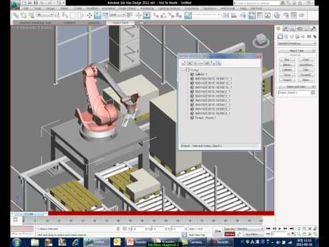 3dsMax Training for Inventor User 04 Simple Factory