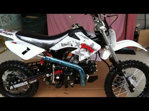 Pit Bike Dirt Bike Assembly and Unboxing (TDR similar to SSR) Motorcycle