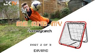 Goalkeeper Training Crazy Catch Diving