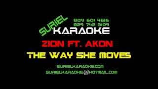 Zion Ft Akon)   The Way She Moves Sk
