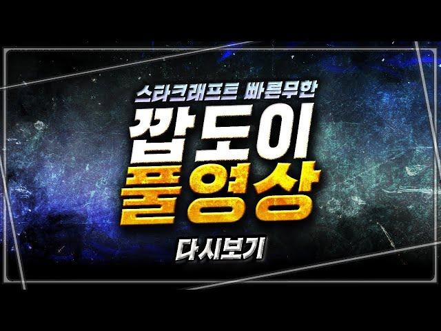 2021.9.19(일) [깝도이] 스타 빨무 팀플