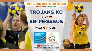 IKF ECup 2020 Trojans KC - SG Pegasus